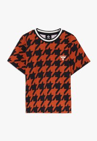 Hummel - Print T-shirt - burnt brick - 0