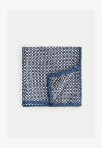 Hackett London - GEO HANK - Scarf - blue/tan - 0