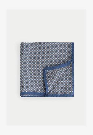 GEO HANK - Scarf - blue/tan