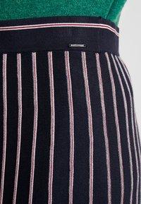s.Oliver - A-snit nederdel/ A-formede nederdele - navy - 4