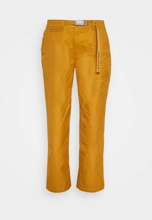 WIDE LEG PANT - Kalhoty - dark soba