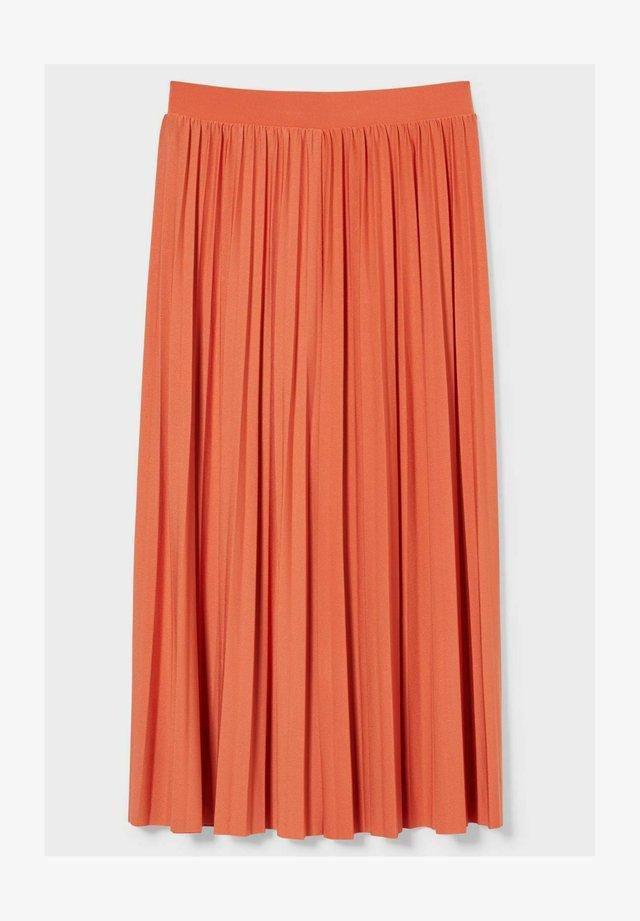 A-lijn rok - orange-rot