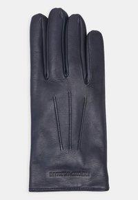 Emporio Armani - Gloves - blu notte - 1