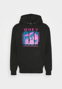 Obey Clothing - DECODING SCREENS - Hoodie - black - 5