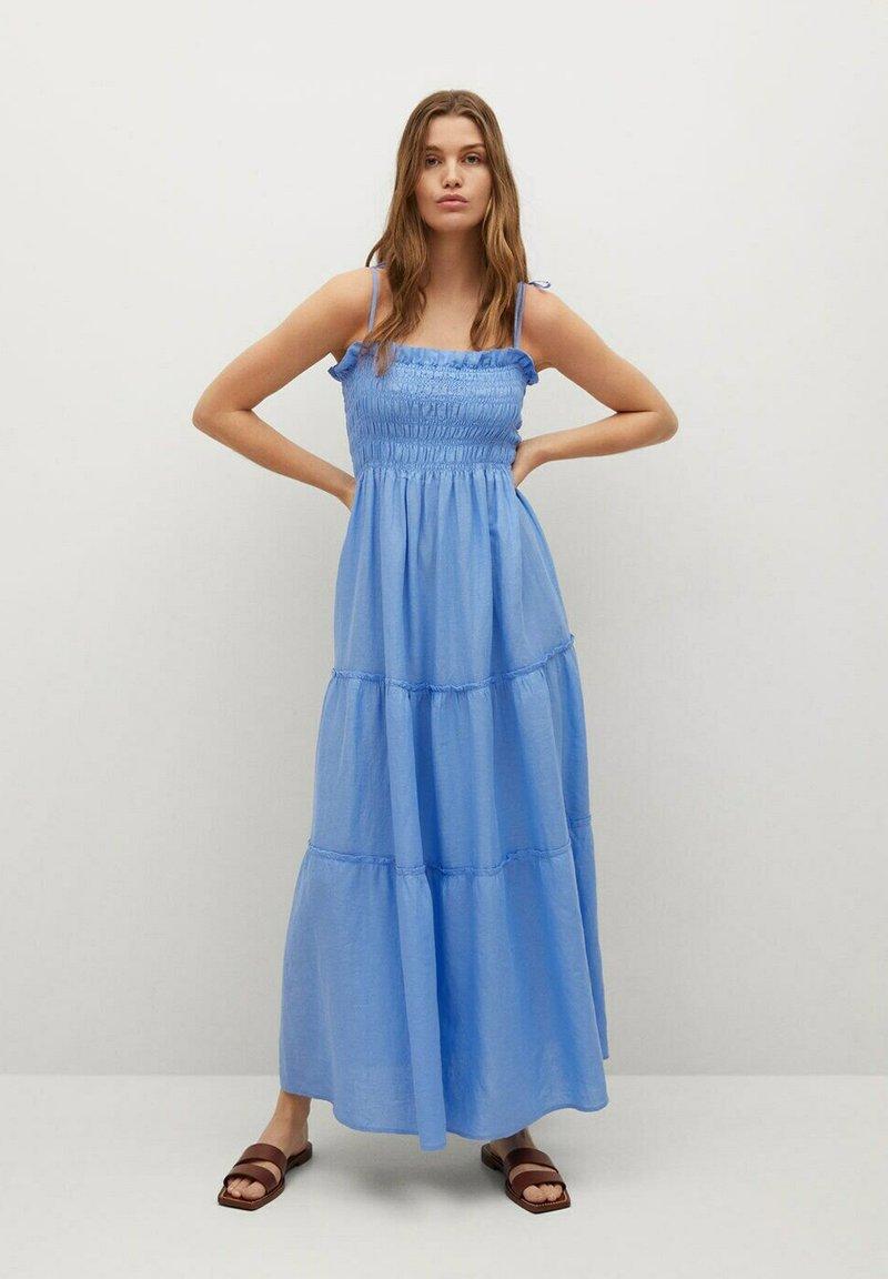 Mango - Maxi dress - blauw