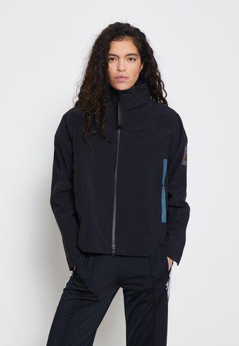 MYSHELTER RAIN.RDY - Hardshell jacket - black/rainbow reflective