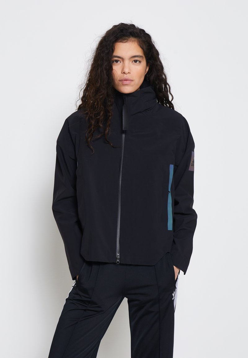 adidas Performance - MYSHELTER RAIN.RDY  - Waterproof jacket - black/rainbow reflective