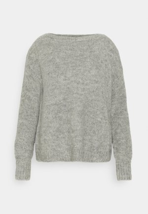 ONLJAZZIE BOATNECK - Svetr - light grey melange