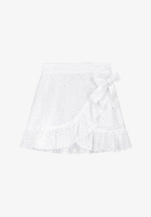 Wrap skirt - bright white