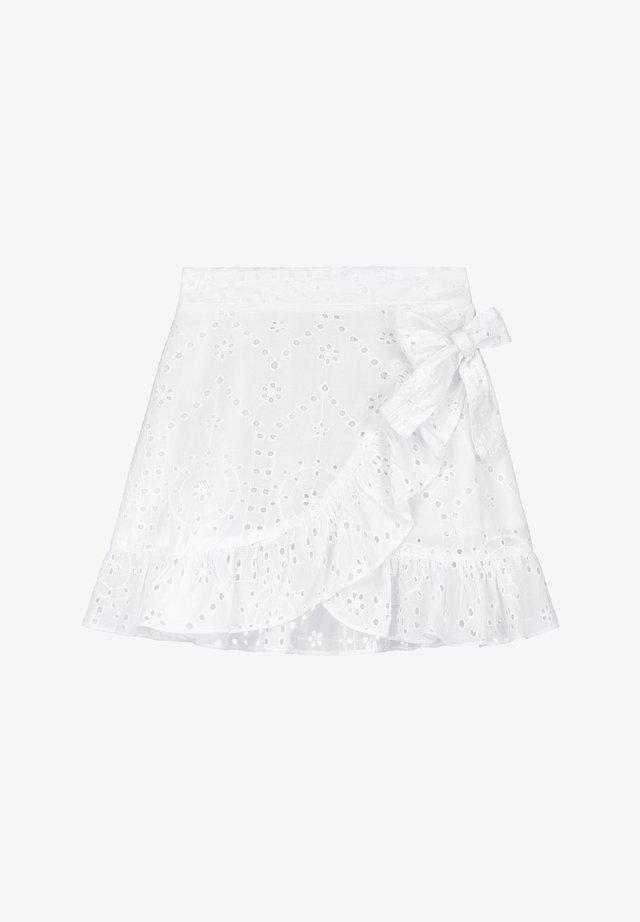 Falda cruzada - bright white