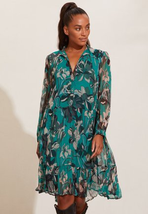 ARABELLA - Shirt dress - deep jade