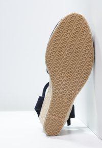 Anna Field - Wedge sandals - navy - 4