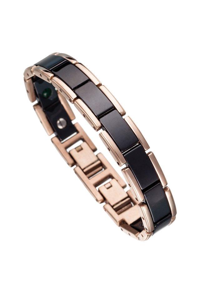 OLYMP - Armband - schwarz/rosé