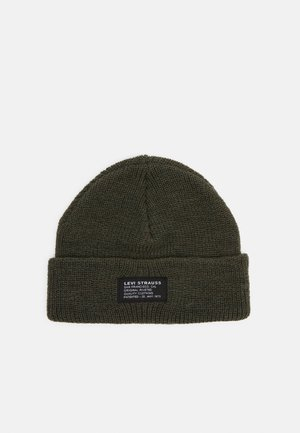 CROPPED BEANIE NO HORSE PULL PATCH UNISEX - Beanie - green