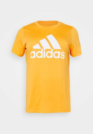 Print T-shirt - mustard yellow