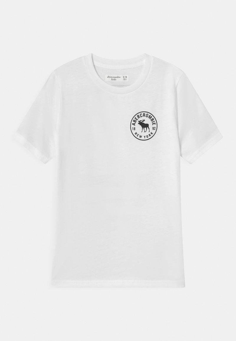 Abercrombie & Fitch - LOGO  - Print T-shirt - white
