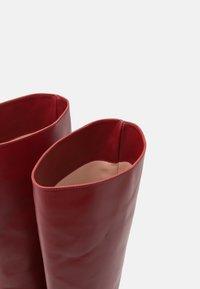 Alberta Ferretti - Kozačky na vysokém podpatku - brown - 6