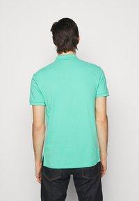 Polo Ralph Lauren - SHORT SLEEVE KNIT - Polo - sunset green - 2