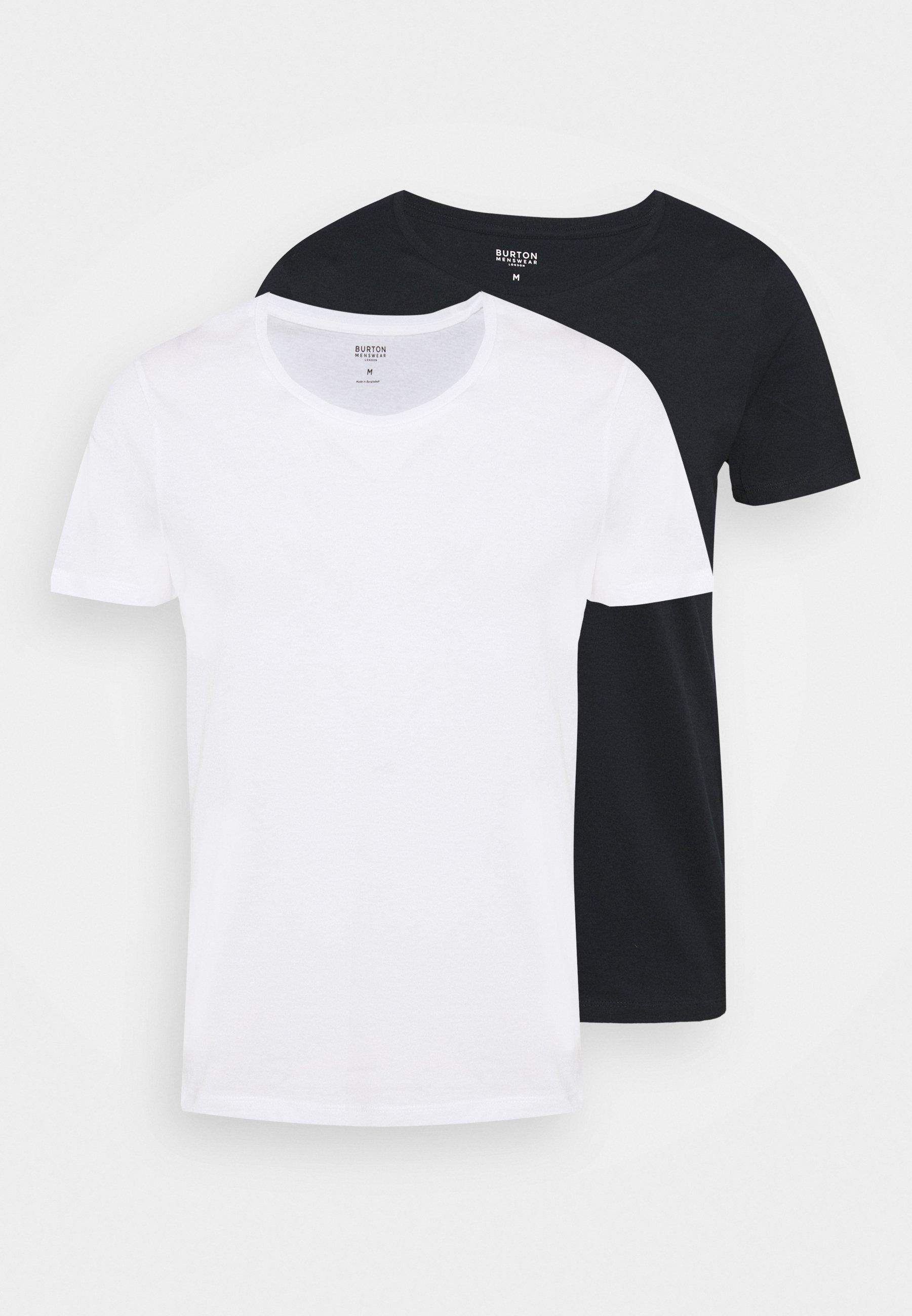Men SCOOP 2 PACK - Basic T-shirt