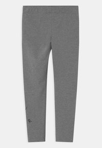 Nike Sportswear - FAVORITES - Leggings - Trousers - carbon heather/black - 1