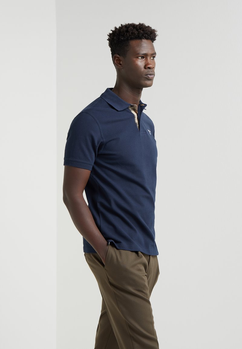 Barbour - TARTAN - Polo shirt - new navy