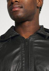 Strellson - FANE - Leather jacket - black - 5