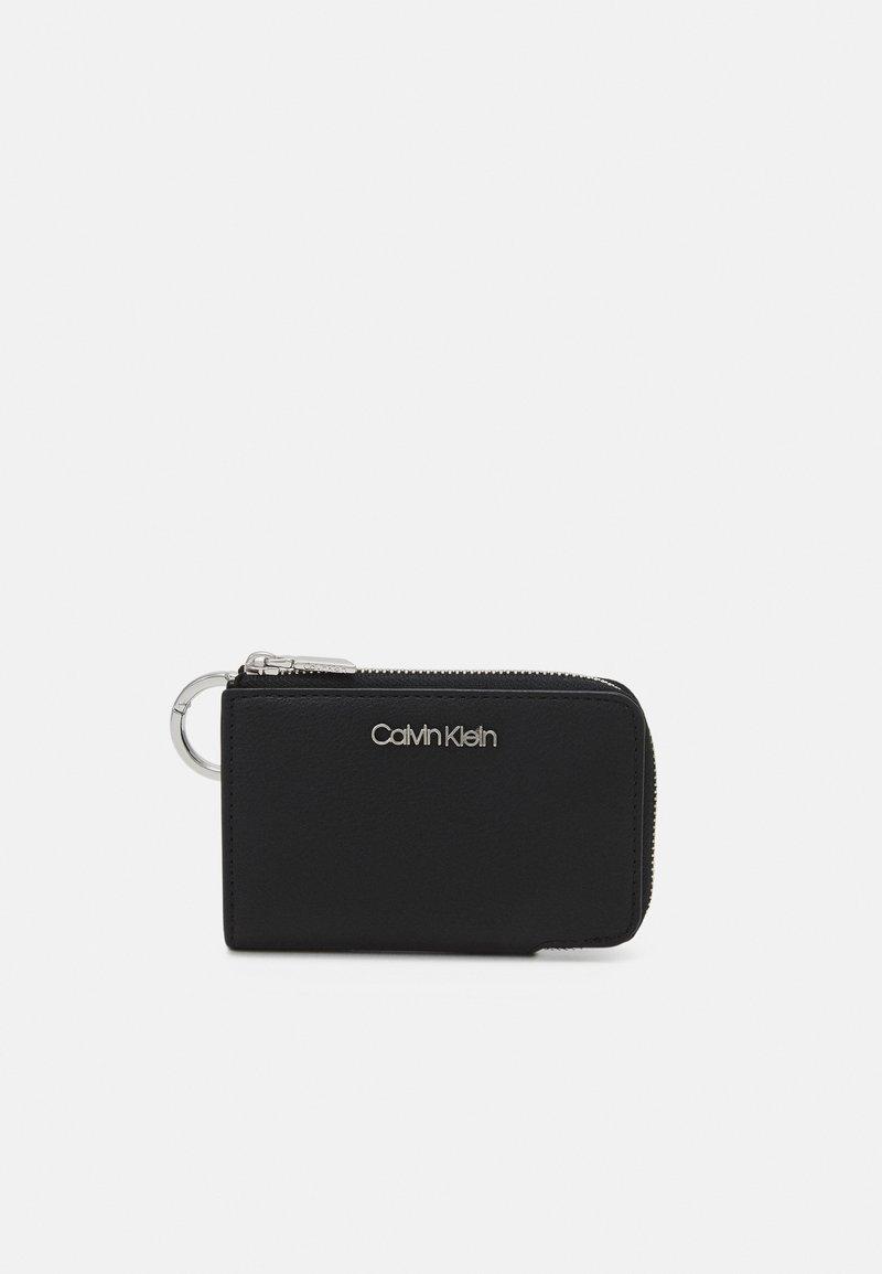 Calvin Klein - WALLET CLIP ON RING - Wallet - black