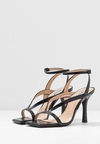 Dune London - MONTEREY  - Sandály na vysokém podpatku - black - 4