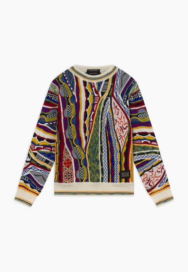Jumper - white/multicolor