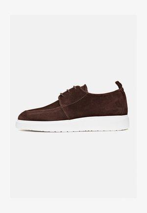 MIAMI  - Sneakers laag - donkerbruin