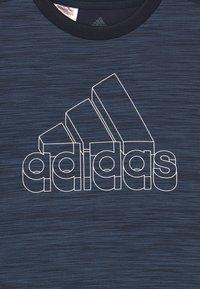 adidas Performance - Print T-shirt - legink/creblu/white - 2