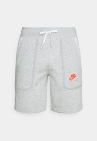 Nike Sportswear - AIR - Tracksuit bottoms - grey heather/summit white/infrared - 0