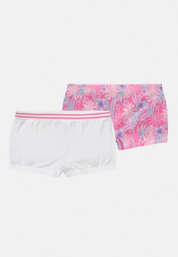 TROPICAL 2 PACK - Pants - bright pink