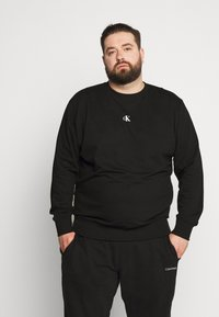 Calvin Klein Jeans Plus - Sweatshirt - black - 0