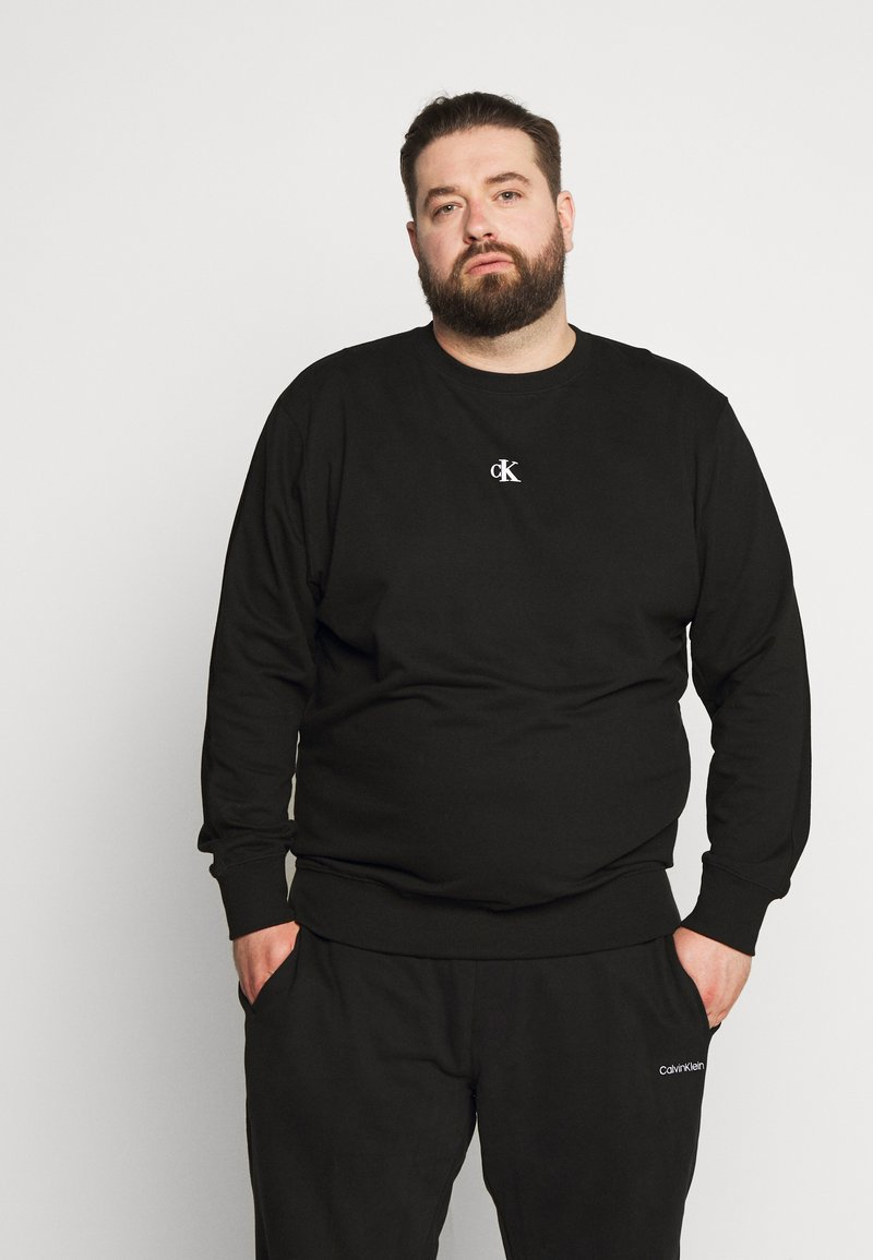 Calvin Klein Jeans Plus - Sweatshirt - black