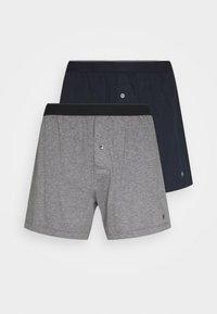 Marc O'Polo - 2 PACK - Boxer shorts - dark blue/grey - 3