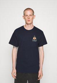 HUF - COME DOWN TEE - T-shirt print - french navy - 2