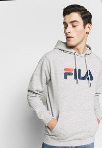 Fila - PURE HOODY - Hoodie - light grey melange - 3