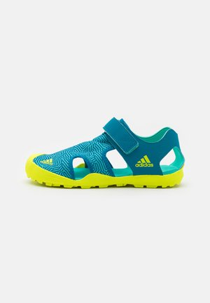 CAPTAIN TOEY UNISEX - Walking sandals - acid mint/solar yellow/active teal