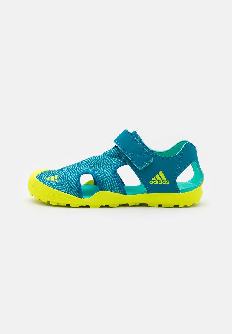 adidas Performance - CAPTAIN TOEY UNISEX - Vaellussandaalit - acid mint/solar yellow/active teal