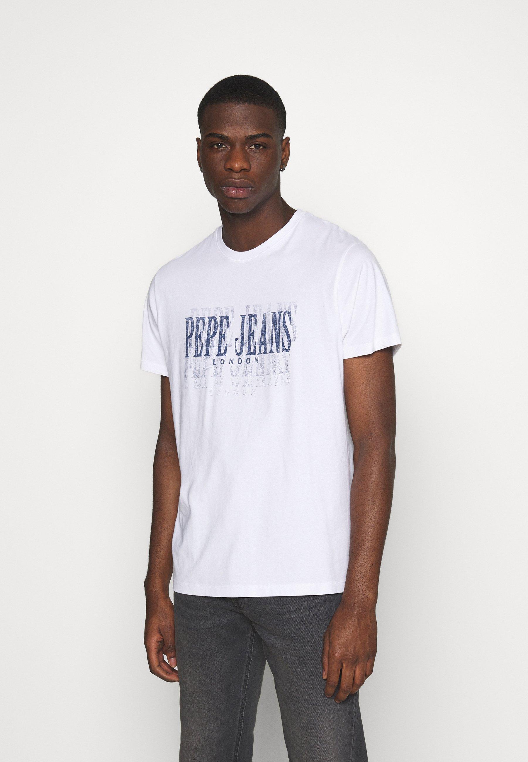 Men SNOW - Print T-shirt