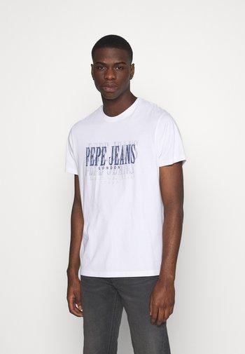 SNOW - Print T-shirt - off white