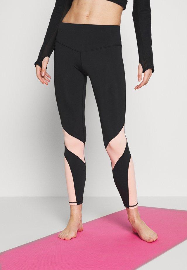 SPRING BOUND LEGGING - Tights - black
