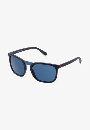 Gafas de sol - matte blue/blue