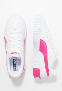 Puma - CALI - Sneakers laag - white/glowing pink - 3