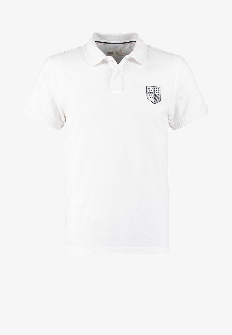 Pier One Poloshirt - white/weiß mfKpsF