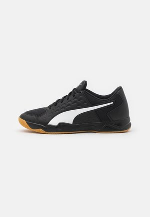 AURIZ - Handball shoes - black/white