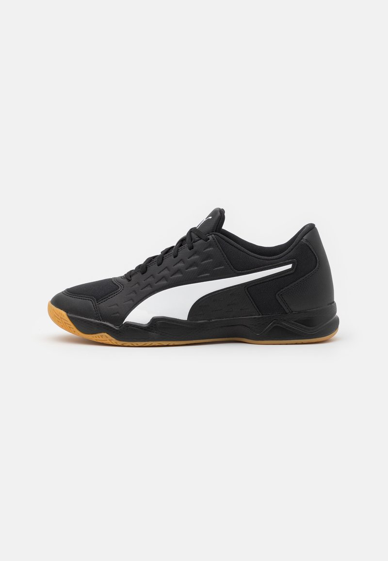Puma - AURIZ - Indoorskor - black/white