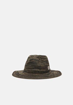 PACKABLE PANAMA HAT - Hat - kelp tan marl