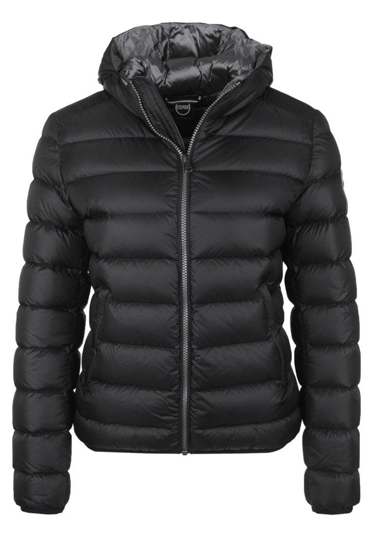 PLACE mit Kapuze Gewatteerde jas black